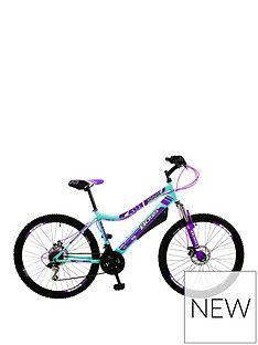 Boss Cycles Pulse Front Suspension Ladies Mountain Bike 16 Inch Frame Best Price, Cheapest Prices