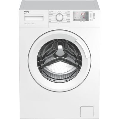 Beko WTG1041B4W 10Kg Washing Machine with 1400 rpm - White - A+++ Rated Best Price, Cheapest Prices