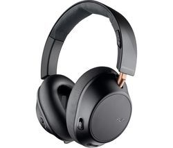 PLANTRONICS Back Beat Go 810 Wireless Bluetooth Noise-Cancelling Headphones - Graphite Black Best Price, Cheapest Prices