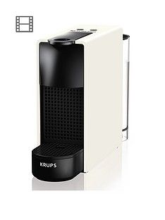 Nespresso XN110140 Essenza Mini Coffee Machine by Krups - White Best Price, Cheapest Prices