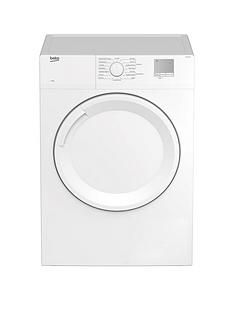 Beko Dtgv8000W 8Kg Vented Tumble Dryer - White Best Price, Cheapest Prices