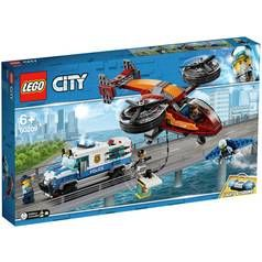 LEGO City Sky Police Diamond Heist Toy Helicopter Set- 60209 Best Price, Cheapest Prices