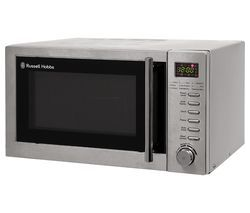 RUSSELL HOBBS RHM2031 Microwave with Grill - Stainless Steel Best Price, Cheapest Prices