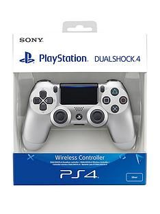 Playstation 4 Silver DualShock Controller Best Price, Cheapest Prices