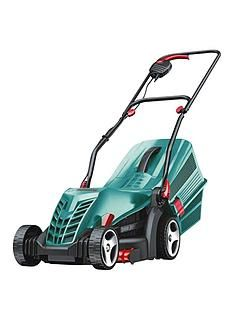 Bosch Rotak 34 R Corded Rotary Lawnmower (34cm Cutting Width) Best Price, Cheapest Prices