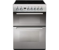 INDESIT DD60C2CX.1 60 cm Electric Ceramic Cooker - Mirror Best Price, Cheapest Prices