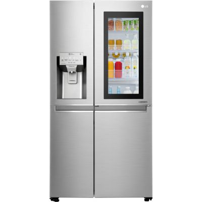 LG InstaView™ Door-in-Door™ GSX960NSVZ American Fridge Freezer - Stainless Steel - A++ Rated Best Price, Cheapest Prices