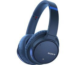 SONY WH-CH700N Wireless Bluetooth Noise-Cancelling Headphones - Blue Best Price, Cheapest Prices