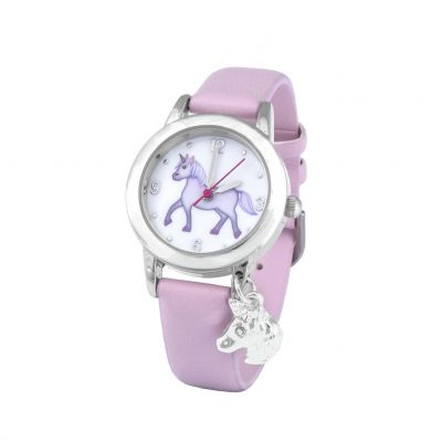Emoji Unicorn Faux Leather Strap Watch Best Price, Cheapest Prices