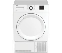 BEKO DTBC8001W 8 kg Condenser Tumble Dryer - White Best Price, Cheapest Prices