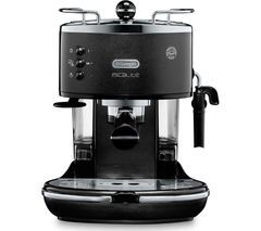 DELONGHI Icona Micalite ECOM311.BK Coffee Machine – Black Best Price, Cheapest Prices