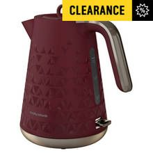 Morphy Richards 108253 Prism Jug Kettle - Merlot Best Price, Cheapest Prices
