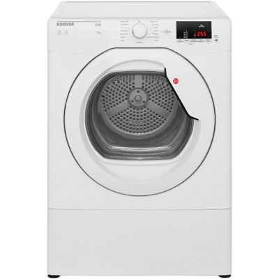 Hoover Dynamic Next HLV9DG 9Kg Vented Tumble Dryer - White - C Rated Best Price, Cheapest Prices