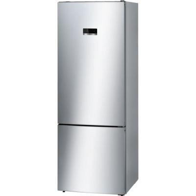 Bosch Serie 4 KGN56XL30 60/40 Frost Free Fridge Freezer - Stainless Steel Effect - A++ Rated Best Price, Cheapest Prices