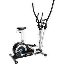 Roger Black Silver 2 in 1 Exercise Bike and Cross Trainer Best Price, Cheapest Prices