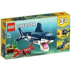 LEGO Creator Deep Sea Creatures Toy Shark Playset - 31088 Best Price, Cheapest Prices