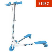 Ozbozz Scissor Scooter - Blue Best Price, Cheapest Prices