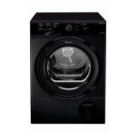 Hotpoint TCFS 83B GK Condenser Tumble Dryer 8KG Load B Energy Rating in Black Best Price, Cheapest Prices