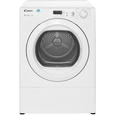 Candy Grand'O Vita CSVV9LG Vented Tumble Dryer - White - C Rated Best Price, Cheapest Prices