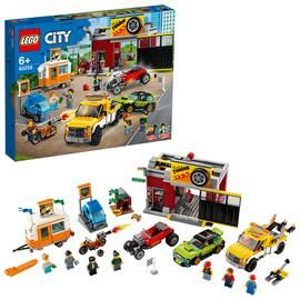 LEGO City Turbo Wheels Tuning Workshop Building Set - 60258 Best Price, Cheapest Prices
