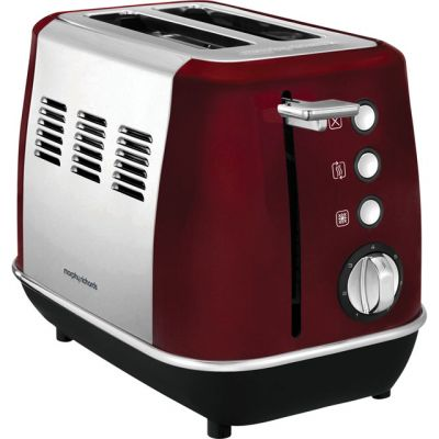 Morphy Richards Evoke 224408 2 Slice Toaster - Red Best Price, Cheapest Prices