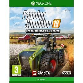 Farming Simulator 19 Platinum Edition Xbox One Game Best Price, Cheapest Prices