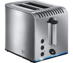RUSSELL HOBBS Buckingham 20740 2-Slice Toaster - Stainless Steel Best Price, Cheapest Prices