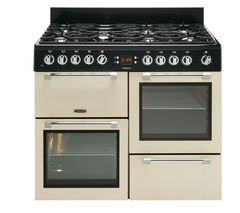 LEISURE Cookmaster CK110F232C Dual Fuel Range Cooker - Cream Best Price, Cheapest Prices