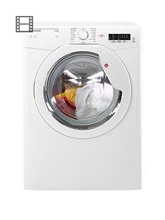 Hoover Link HLV9LG 9kg Load, Vented Sensor Tumble Dryer with One Touch - White Best Price, Cheapest Prices