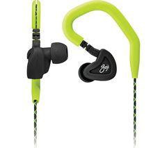 GOJI GSPOOK16 Headphones - Black & Green Best Price, Cheapest Prices