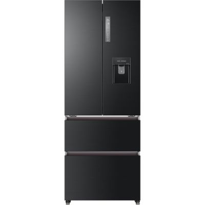 Haier HB16WSNAA American Fridge Freezer - Graphite - A+ Rated Best Price, Cheapest Prices