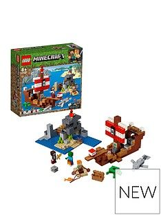 LEGO Minecraft 21152 The Pirate Ship Adventure Best Price, Cheapest Prices
