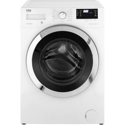 Beko WR862441W 8Kg Washing Machine with 1600 rpm - White - A+++ Rated Best Price, Cheapest Prices