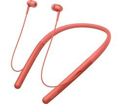 SONY h.ear Series WI-H700 Wireless Bluetooth Headphones - Red Best Price, Cheapest Prices