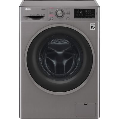 LG J6 F4J610SS 10Kg Washing Machine with 1400 rpm - Graphite - A+++ Rated Best Price, Cheapest Prices