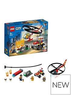 LEGO City 60248 Fire Helicopter Response with ATV Quad Bike Best Price, Cheapest Prices