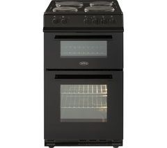 BELLING FS50ET 50 cm Electric Cooker - Black Best Price, Cheapest Prices
