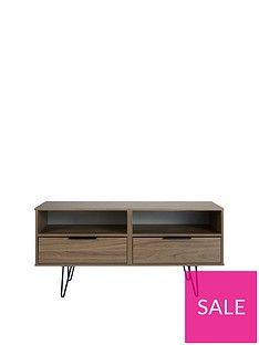 SWIFT Tokyo Ready Assembled TV Unit with Hair Pin Legs - fits up to 48 inch TV Best Price, Cheapest Prices