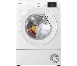 HOOVER Dynamic Next DX C9DG NFC 9 kg Condenser Tumble Dryer - White Best Price, Cheapest Prices