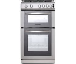 MONTPELLIER MDG500LS 50 cm Gas Cooker - Silver Best Price, Cheapest Prices