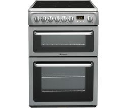 HOTPOINT DSC60SS 60 cm Electric Ceramic Cooker – Graphite Best Price, Cheapest Prices