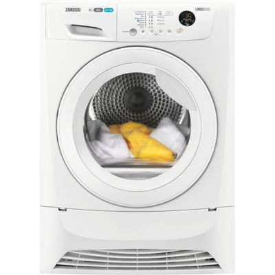 Zanussi ZDH8903W 8Kg Heat Pump Tumble Dryer - White - A+ Rated Best Price, Cheapest Prices