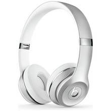 Beats by Dre Solo 3 On-Ear Wireless Headphones - Silver Best Price, Cheapest Prices
