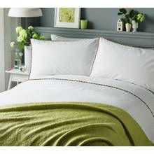 Serene Pom Pom Multicoloured Bedding Set - Kingsize Best Price, Cheapest Prices