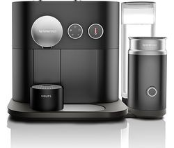 NESPRESSO by Krups Expert & Milk XN601840 Smart Coffee Machine - Black Best Price, Cheapest Prices