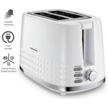 Morphy Richards 220023 Dimensions 2 Slice Toaster - White Best Price, Cheapest Prices
