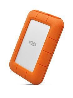 LaCie LaCie 4TB Rugged Thunderbolt shock & drop resistance portable external hard drive for PC & Mac Best Price, Cheapest Prices