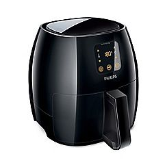 Philips Extra large black 'Avance' airfryer HD9240/90 Best Price, Cheapest Prices