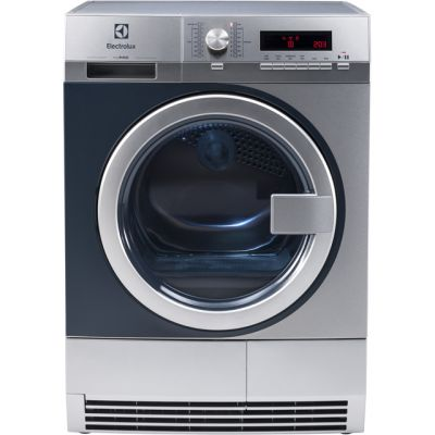 Electrolux myPro TE1120P 8Kg Semi Commercial Condenser Tumble Dryer - Stainless Steel - B Rated Best Price, Cheapest Prices