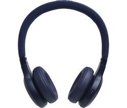 JBL LIVE 400BT Wireless Bluetooth Headphones - Blue Best Price, Cheapest Prices